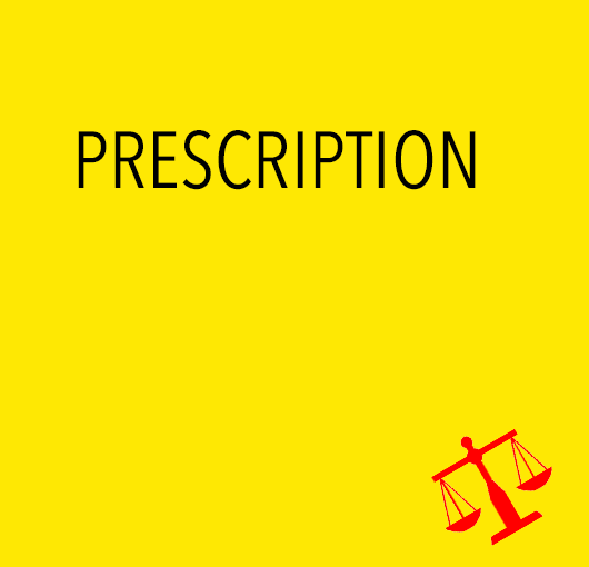 Prescription de l'action publique