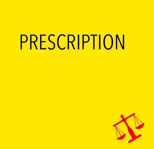 Prescription de l'action publique