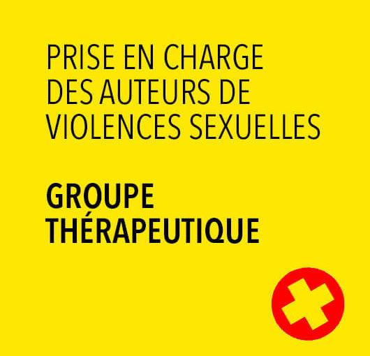 La mise en place d'un groupe thérapeutique pour les auteurs de violences sexuelles